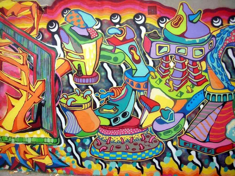 art de rue ou street art en anglais
